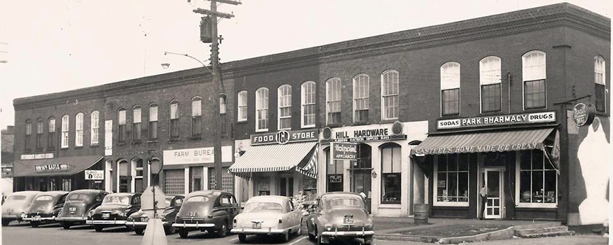 Main Street East Side 1955
