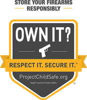 own it, respect it, secure it graphic
